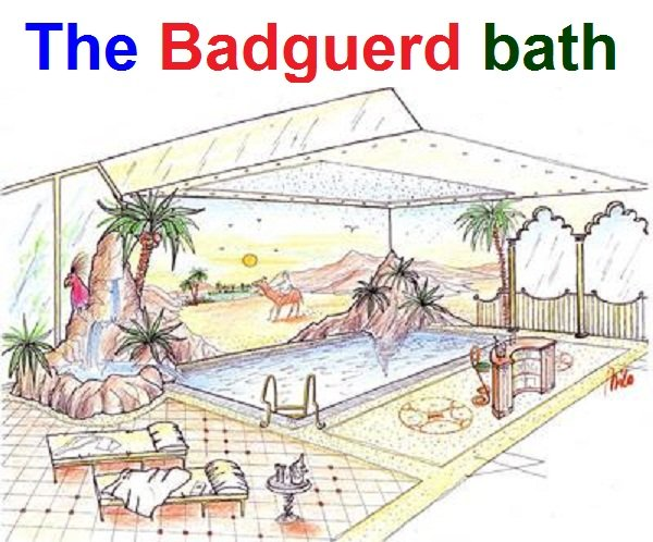 The Badguerd bath