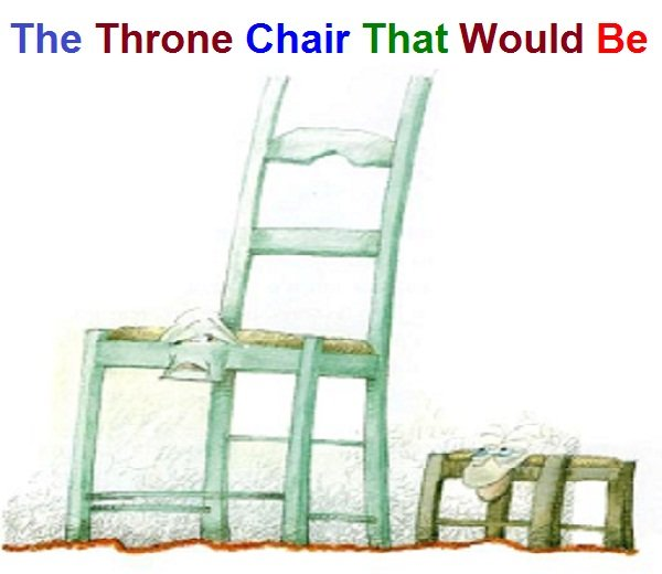 Photo of The Throne Chair That Would Be
