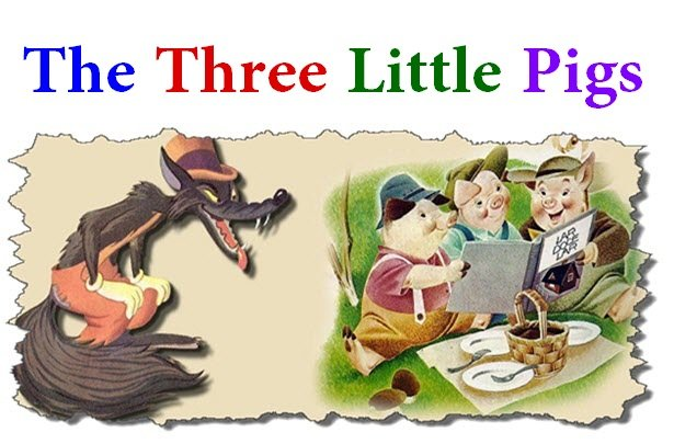Photo of The Three Little Pigs