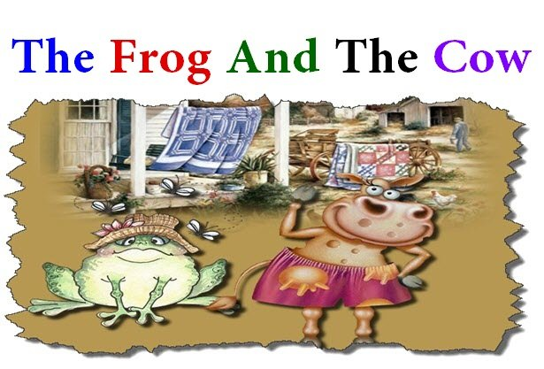 The Frog And The Cow | Kids Story - Short Story For Kids