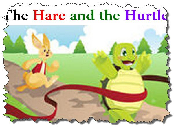 Photo of The Hare and the Turtle