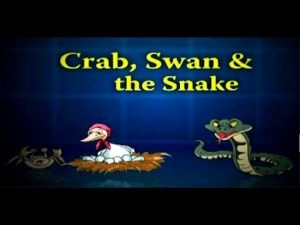 Crab, Swan And The Snake