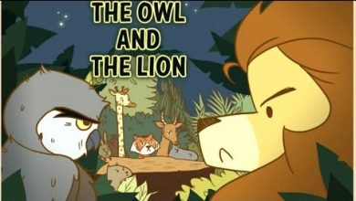 Photo of The Owl And The Lion