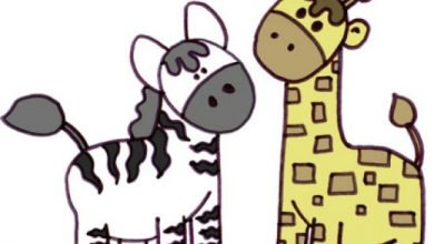 Photo of The Zebra And The Giraffe