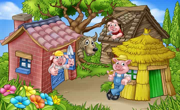Photo of Three Little Pigs Bedtime Story For Kids